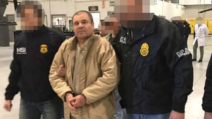 Fiscales federales tienen la intención de imponerle a Guzmán una multa penal de 14.000 millones de dólares.