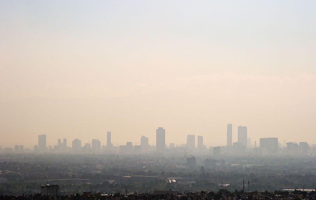 Ciudad de México es una de las ciudades con mayores niveles de polución en el mundo.
