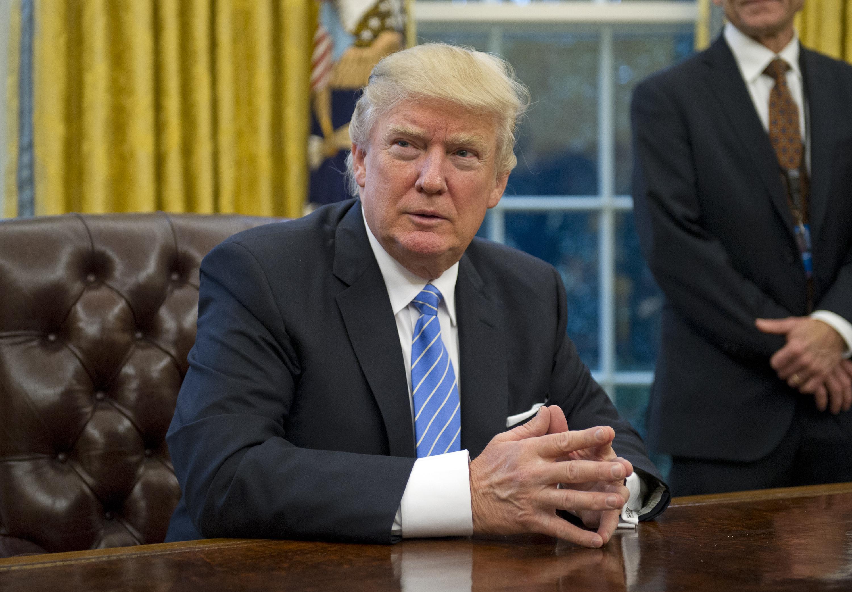 Donald Trump ya ha dado sus primeros pasos muy concretos como presidente de Estados Unidos. (Crédito: Ron Sachs/Pool via Bloomberg)