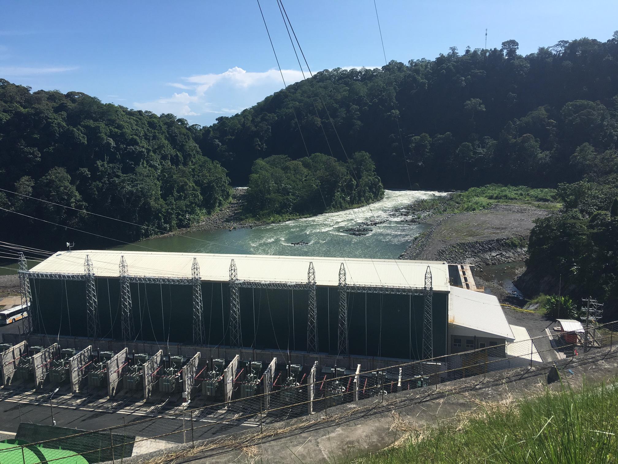 Así es la Planta Hidroeléctrica Reventazón, la más grande de Centroamérica se inauguró