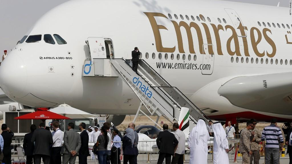 Emirates Airlines es la aerolínea internacional más grande del mundo.