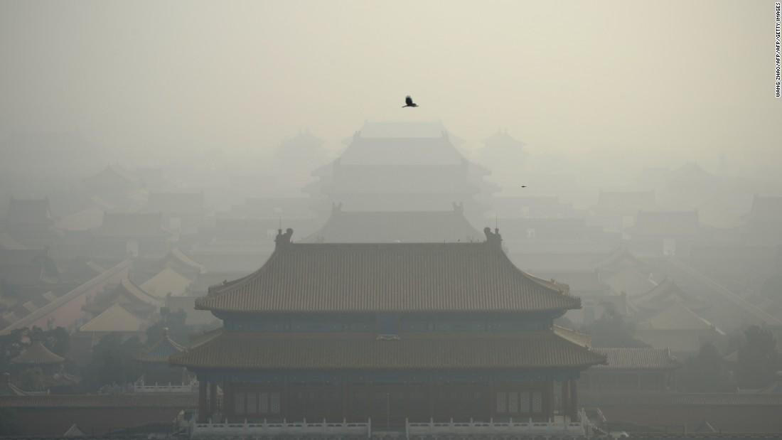 La contaminación es uno de los problemas más graves que enfrenta la capital china.