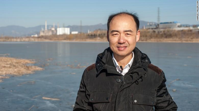 Ma Jun, activista ambientalista, fotografiado en la periferia de Beijing, cerca de donde creció, el pasado 18 de enero.