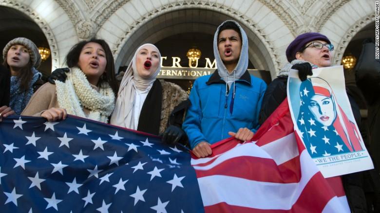 A lo largo de todo Estados Unidos se han llevado a cabo varias protestas en contra del decreto inmigratorio de Trump.