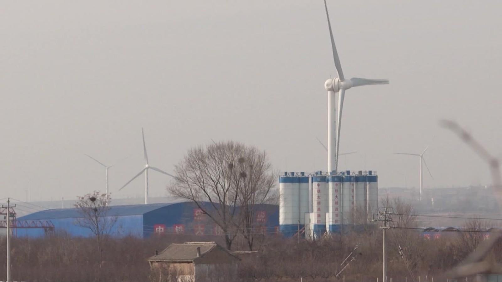 China sobrepasó hace tiempo a Estados Unidos en incrementar su capacidad de producir energía eólica.