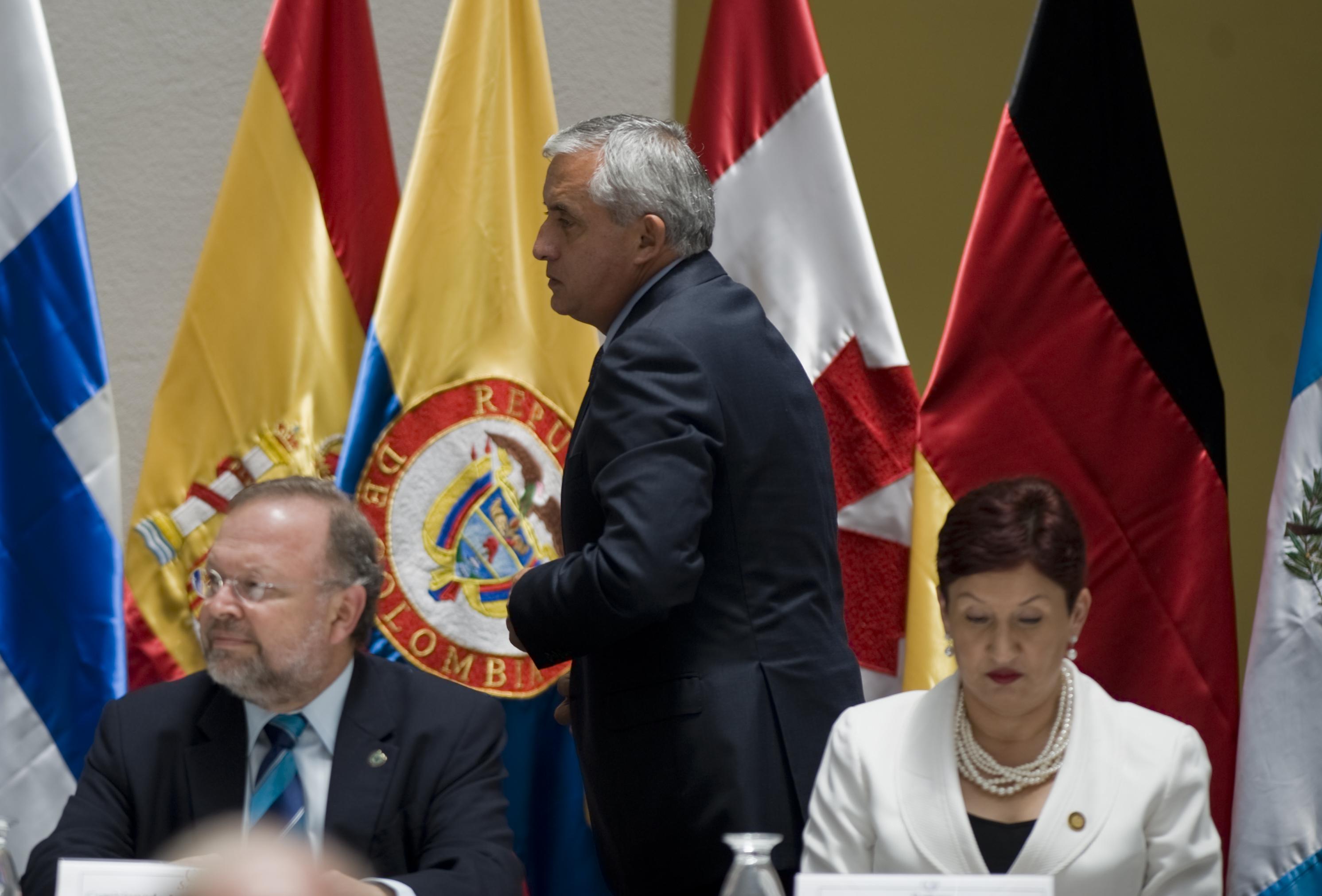El expresidente nombró como fiscal general a Aldana el 9 de mayo del 2014. (Crédito: JOHAN ORDÓÑEZ/AFP/GettyImages)