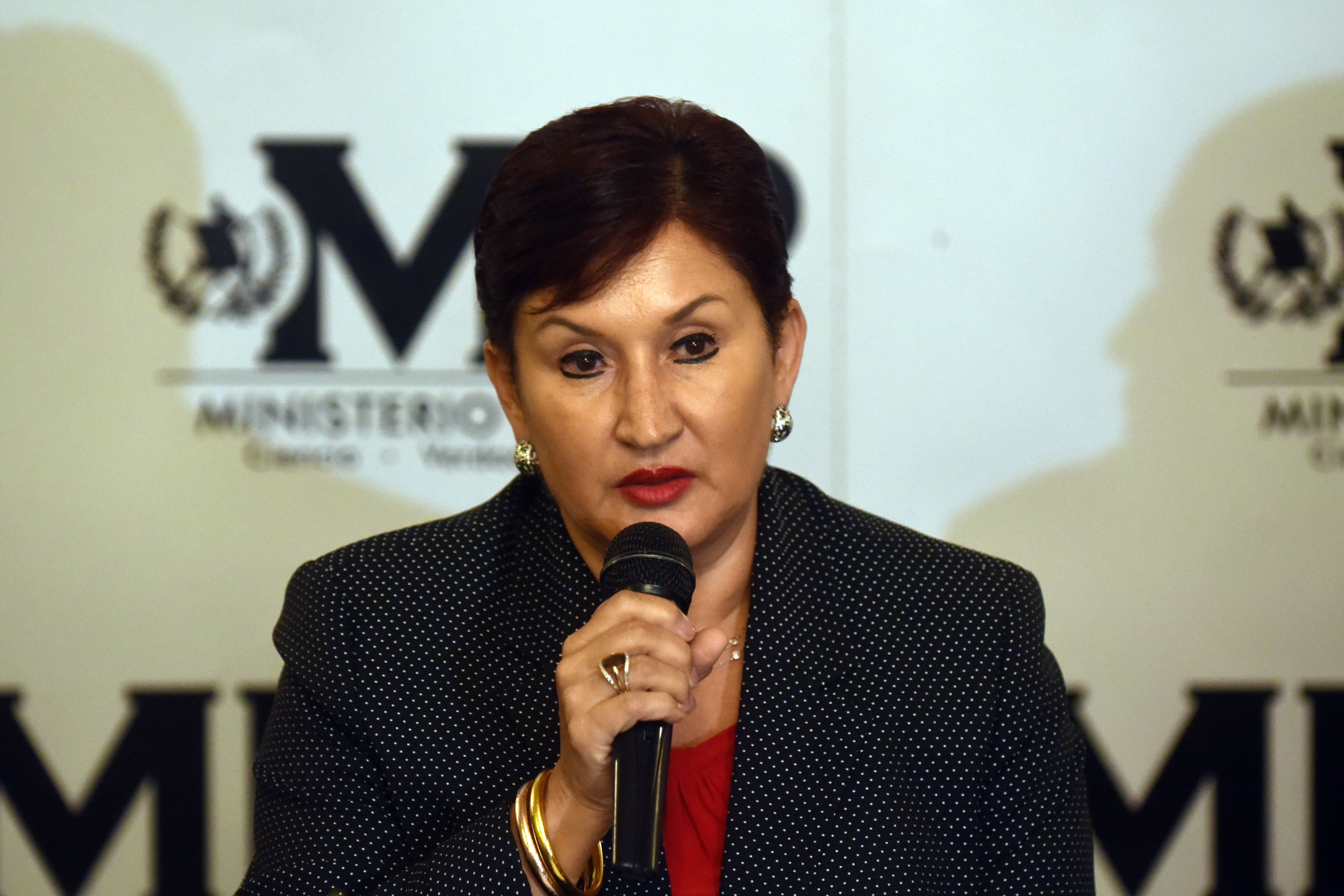 Thelma Aldana, fiscal general del Ministerio Público de Guatemala. (Crédito: JOHAN ORDÓÑEZ/AFP/Getty Images)