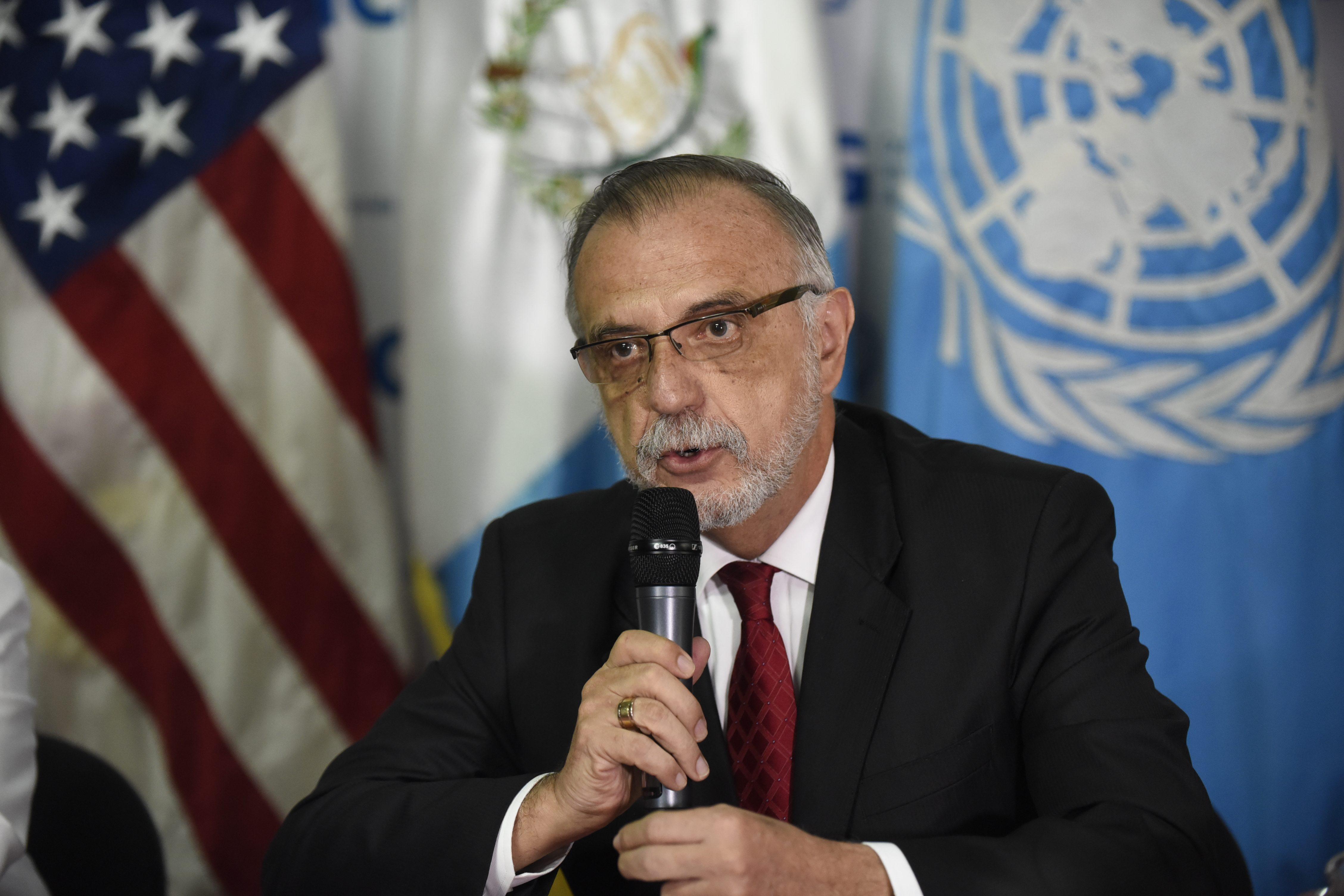 Iván Velázquez, presidente de la La Comisión Internacional Contra la Impunidad en Guatemala (CICIG). (Crédito: JOHAN ORDÓÑEZ/AFP/Getty Images)