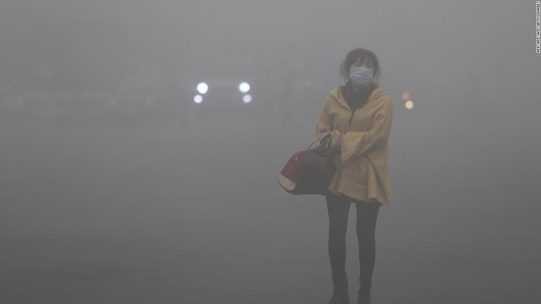 Según la OMS, más del 90% de la población mundial respira un aire de mala de calidad.