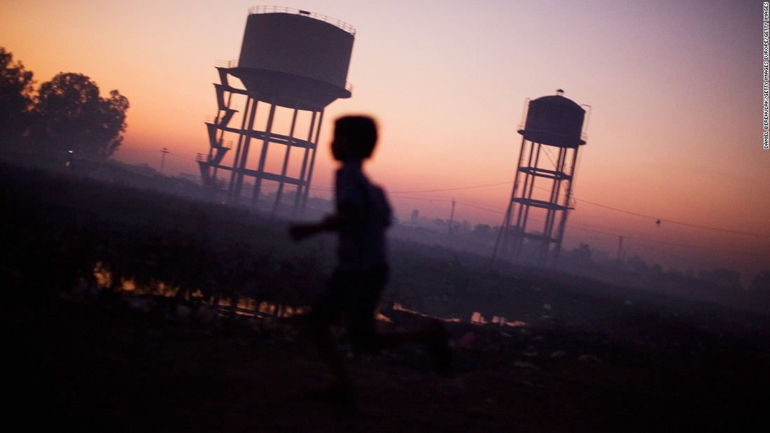 Según la OMS, la contaminación mata a 1,7 millones de niños cada año.