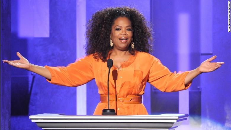 Oprah Winfrey.