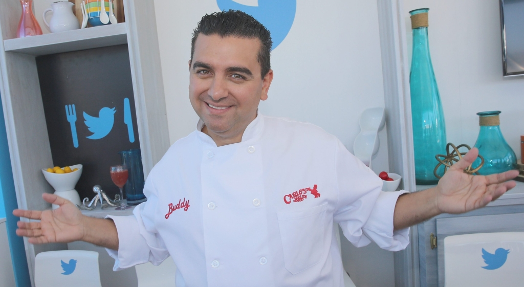 MIAMI BEACH, FL - FEBRUARY 27: Chef Buddy Valastro attends a book signing with Twitter at Goya Foods Grand Tasting Village Featuring MasterCard Grand Tasting Tents & KitchenAid® Culinary Demonstrations during 2016 Food Network & Cooking Channel South Beach Wine & Food Festival Presented By FOOD & WINE at Grand Tasting Village on February 27, 2016 in Miami Beach, Florida. (Photo by Aaron Davidson/Getty Images for SOBEWFF®)