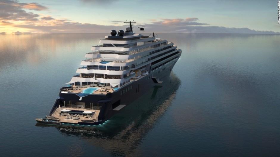 Primera ola: el barco encargado (habrá dos más próximamente) fue concebido como una mezcla entre yate y crucero.