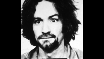 1969: Police mug shot of American cult leader and murderer Charles Manson. Information about the Tate-LaBianca murders is detailed below the photo. (Photo by Hulton Archive/Getty Images)