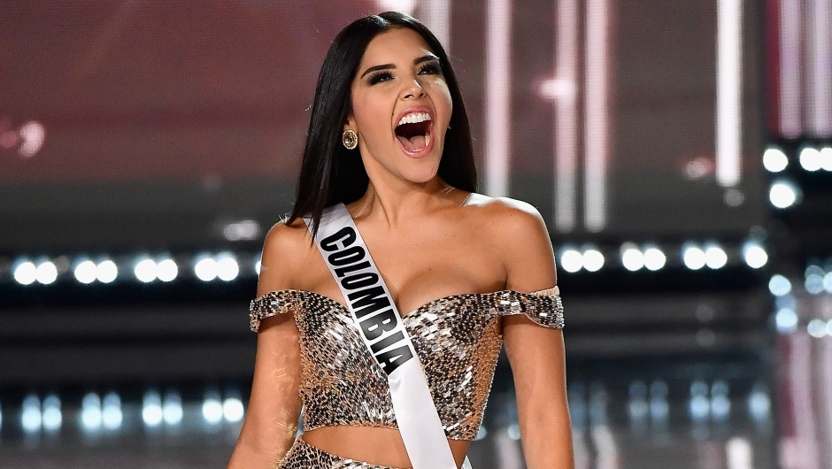 competes during the 2017 Miss Universe Pageant at The Axis at Planet Hollywood Resort & Casino on November 26, 2017 in Las Vegas, Nevada. (Photo by Frazer Harrison/Getty Images)