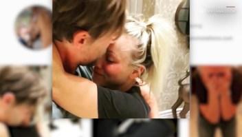 El prometido de Kaley Cuoco subió a Instagram un video que muestra el momento del compromiso.