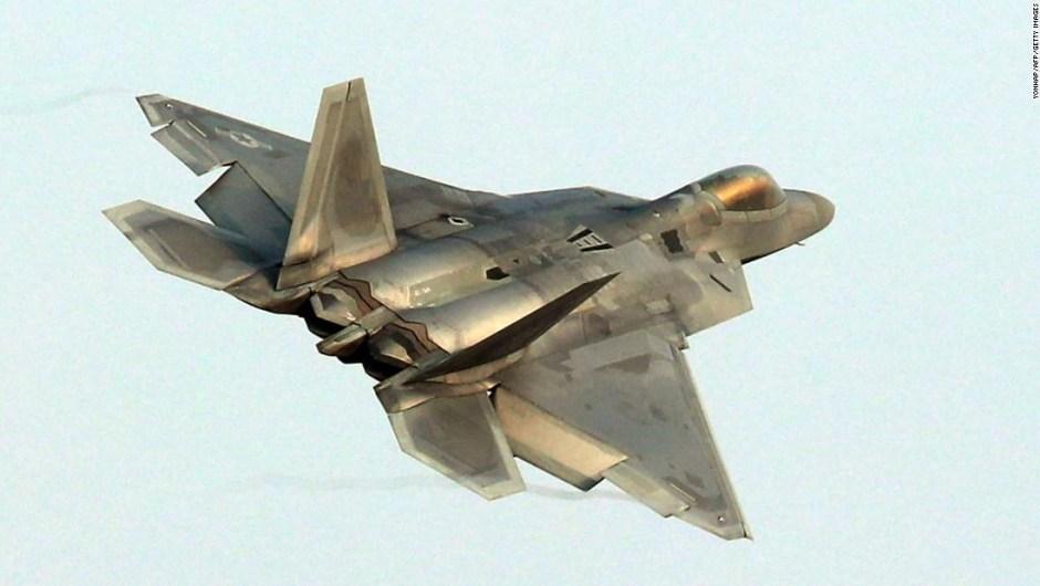 Un avión F-22 Raptor de la Fuerza Aérea de EE.UU. (AFP / Getty Image)