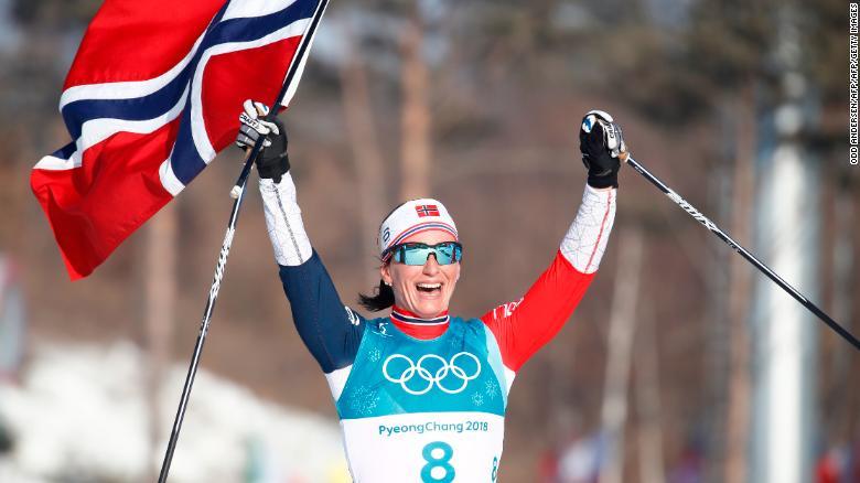 Marit Bjoergen PyeongChang 2018