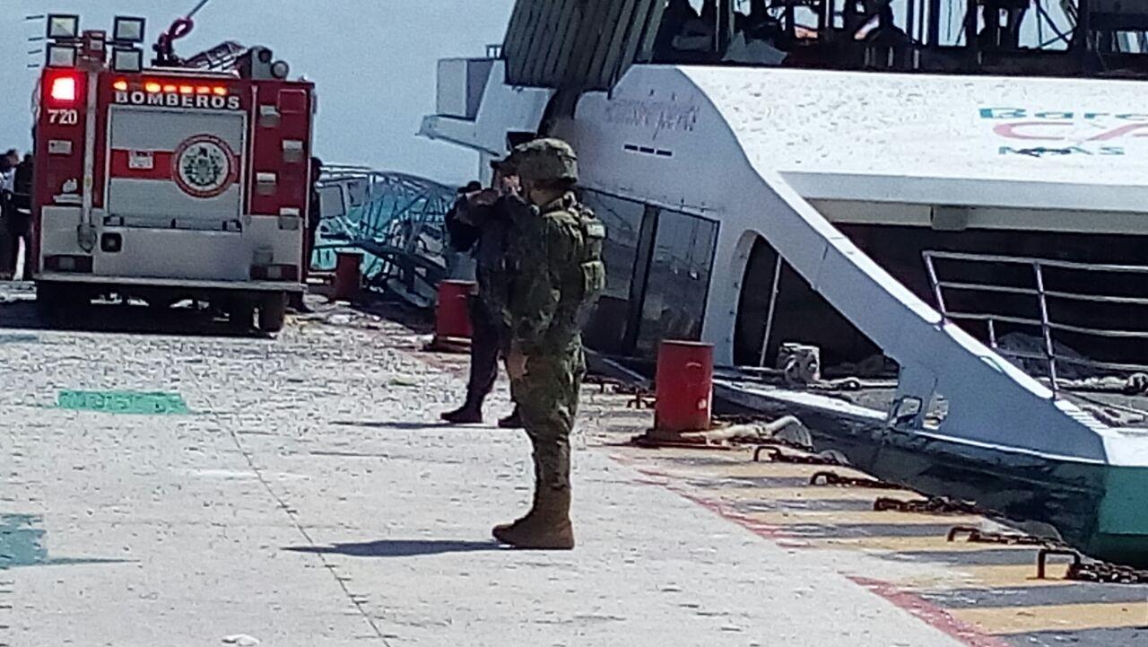 Explosión Playa del carmen foto méxico
