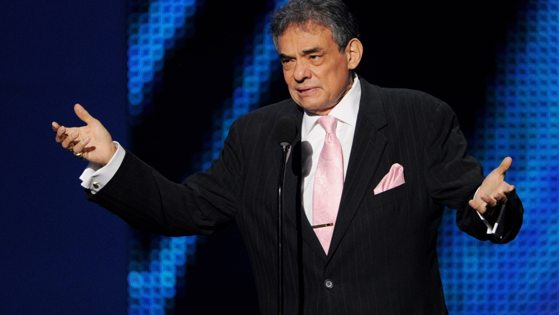 LOS ANGELES, CA - OCTOBER 18: Singer Jose Jose appears onstage at the Billboard Mexican Music Awards presented by State Farm on October 18, 2012 in Los Angeles, California. (Photo by Kevin Winter/Getty Images)