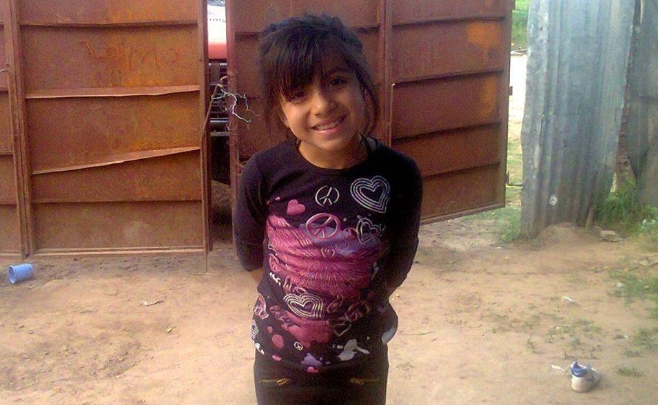 Camila Borda, de 11 años.