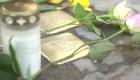 Este monumento conmemora a los asesinados en el Holocausto