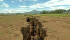 Alerta por enorme grieta en Kenya