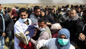La violencia se apodera de la Franja de Gaza en Semana Santa