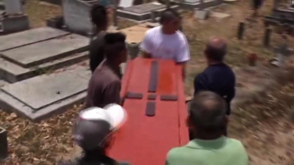 Empiezan los funerales de presos en Venezuela
