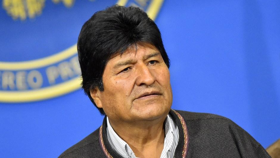 evo morales renuncia bolivia