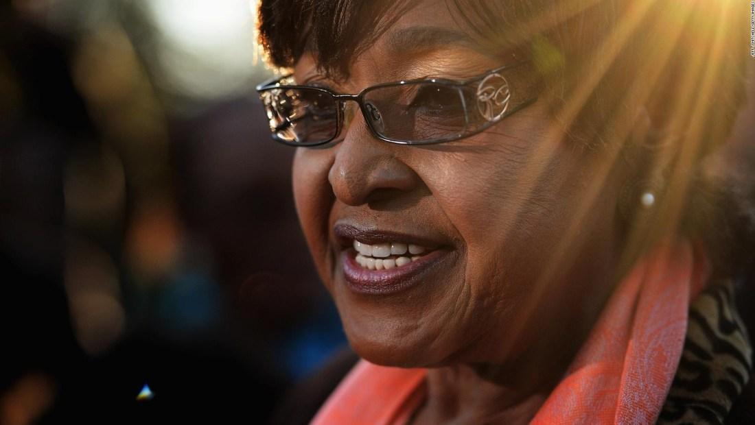 Así fue la vida de Winnie Mandela