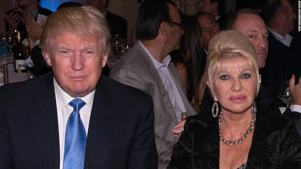 Ivana Trump junto a Donald Trump