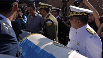 Con honores militares fue el sepelio de Ríos Montt