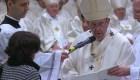 Esta es la peruana a la que bautizó el papa Francisco