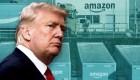 Donald Trump critica a Amazon, pero se contradice
