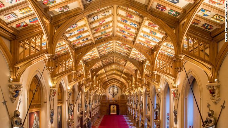 La entrada de San Jorge en el Castillo de Windsor será la sede de una de las dos recepciones posteriores a la boda del príncipe Harry y Meghan Markle el 19 de mayo.