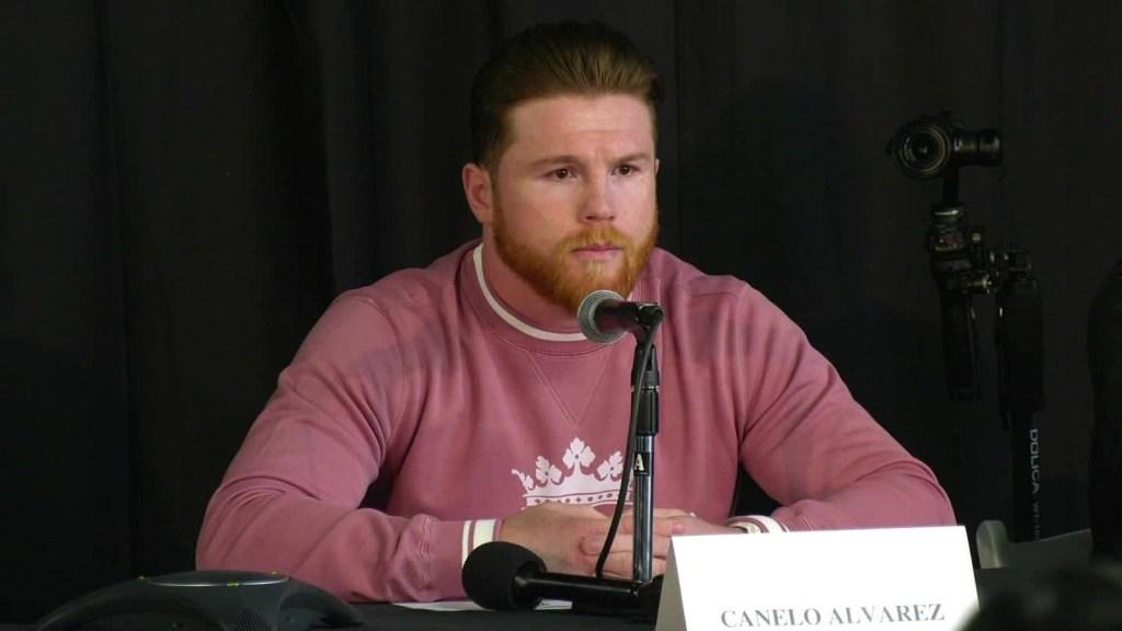 """""""El Canelo"""" Álvarez: Soy un peleador limpio"""
