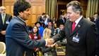 Bolivia pide negociación con Chile para salida al mar soberana