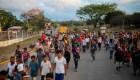 """La """"Caravana migrante"""" llega a Puebla"""