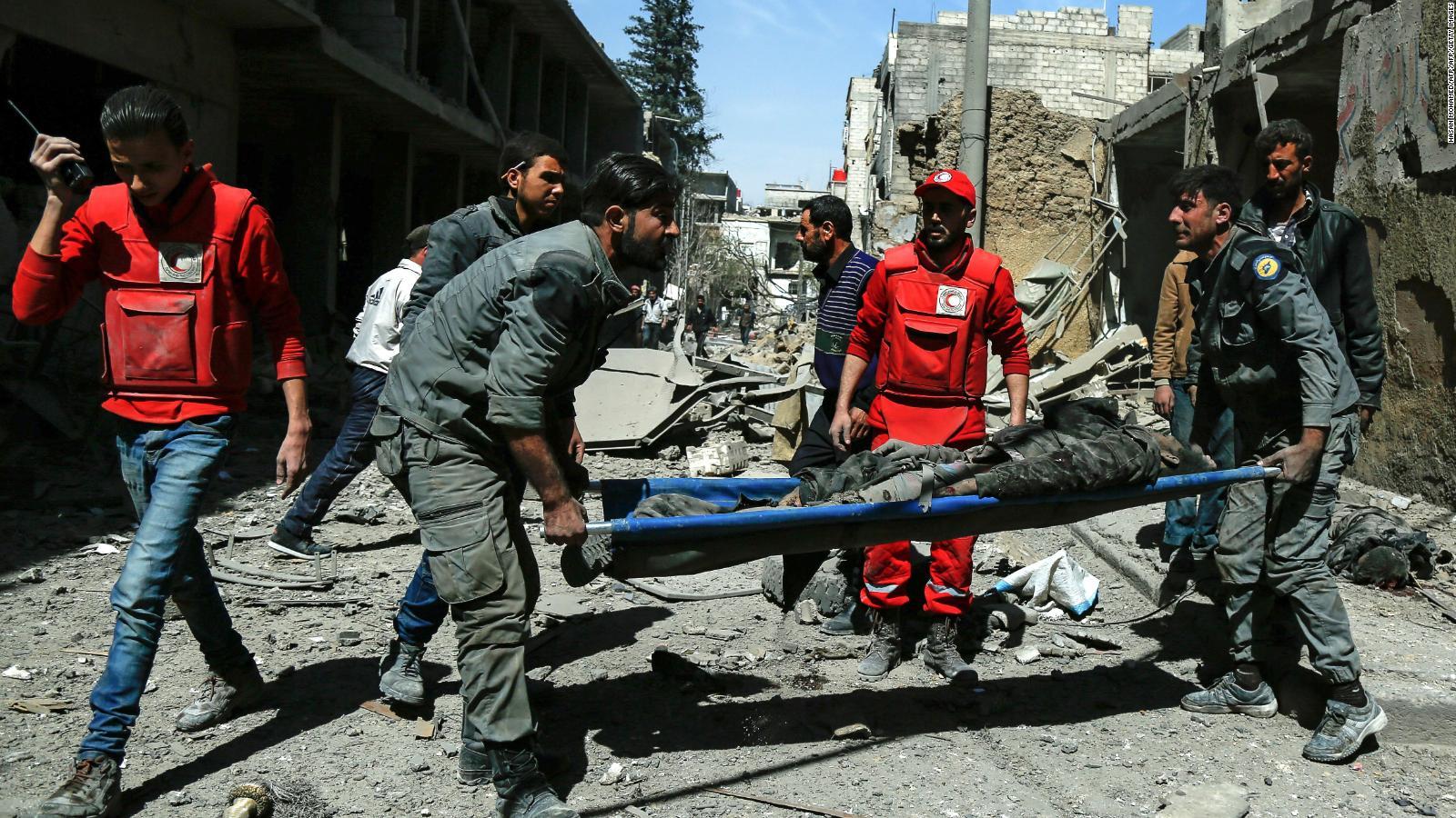 Rusia y Siria acusan a Israel de ataque aéreo
