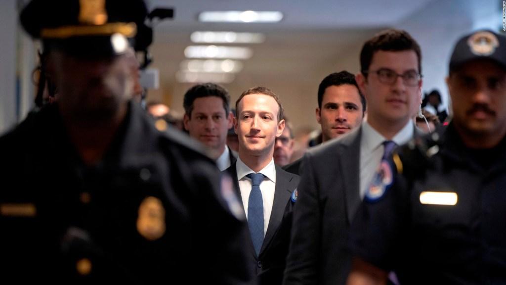 Mark Zuckerberg testificará ante el Congreso