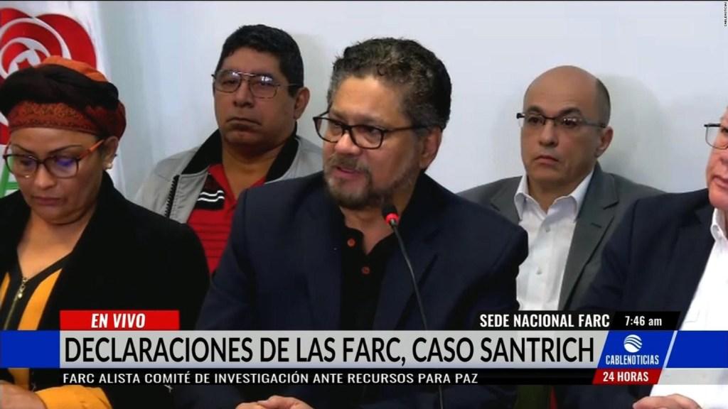 La JEP y las FARC hablan sobre la captura de Santric