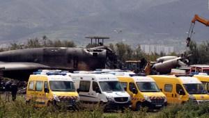 Mueren 257 personas al estrellarse un avión argelino