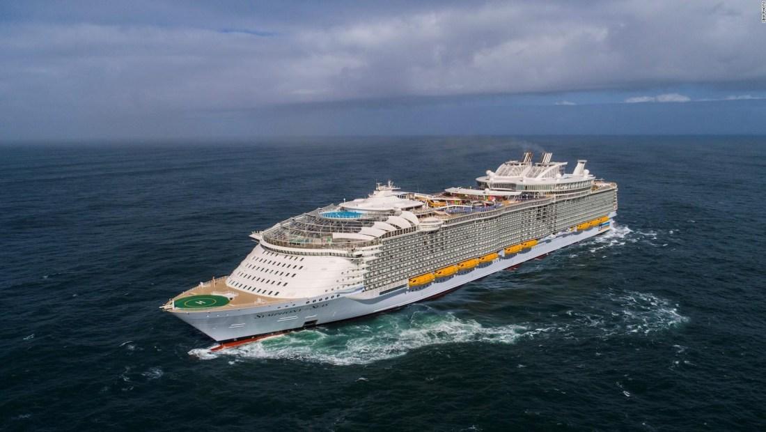Este es el crucero más grande del mundo