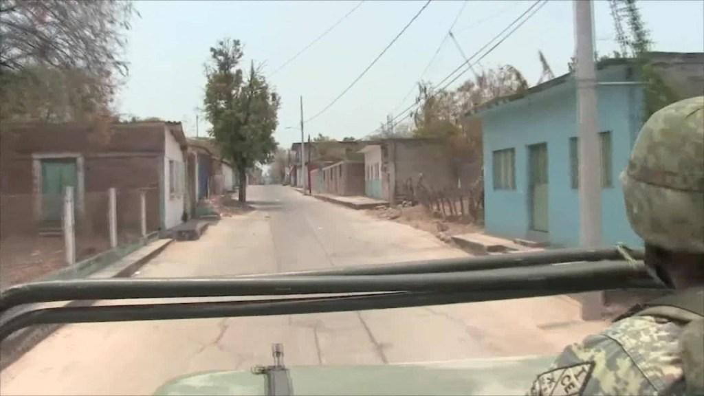 Habitantes de Guerrero, México, huyen de la violencia