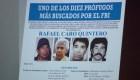 EE.UU. ofrece millonaria recompensa por captura de Caro Quintero