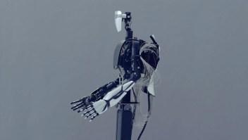 El robot que imita movimientos de manos en tiempo real