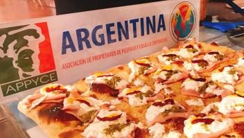 Pizzeros argentinos se destacaron en competencia mundial