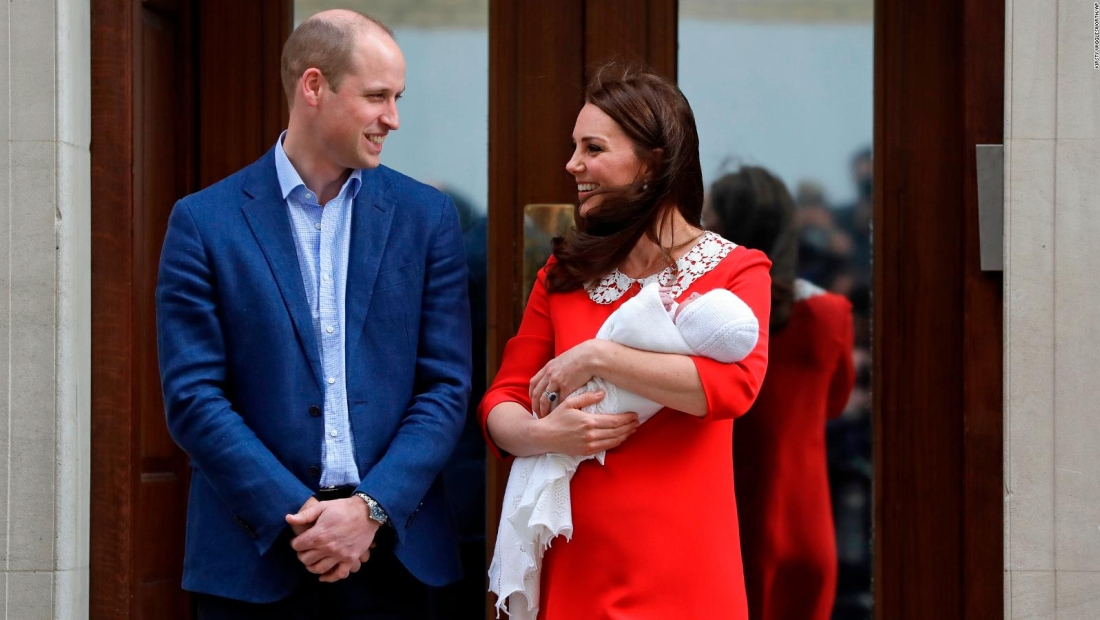 Nació el tercer hijo de la duquesa de Cambridge