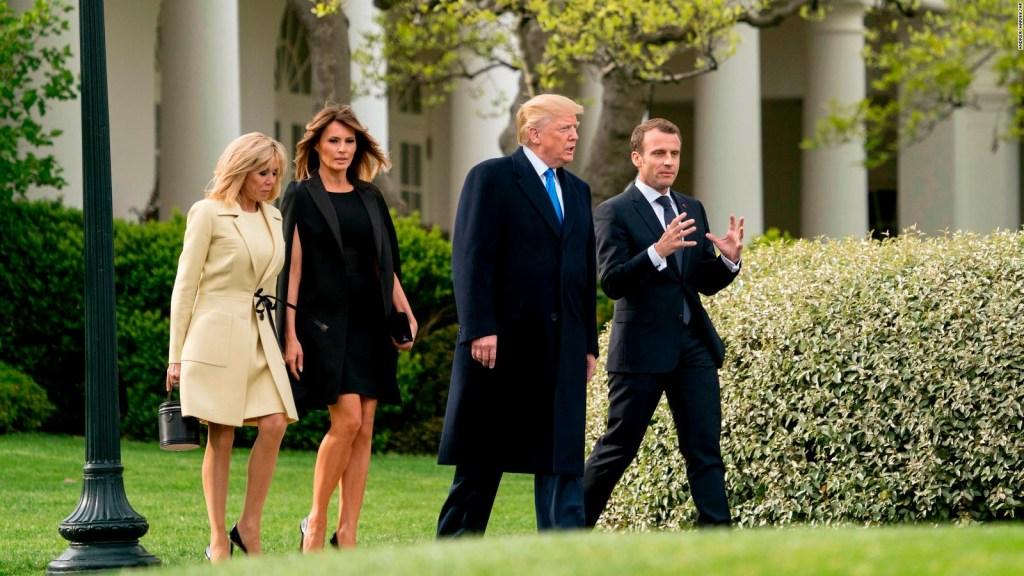 ¿Qué está en juego con la vista de Macron a EE.UU.?